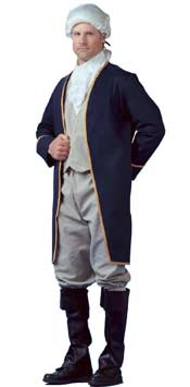 Adult George Washington Costume Clothes