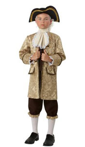 Deluxe Child President Washington Costume