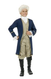 Kid President Washington Costume CH286