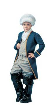 Child George Washington Halloween Costume