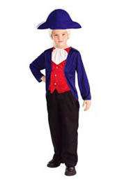 Kids Economy George Washington Halloween Costume
