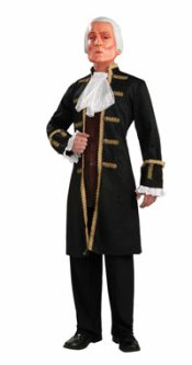 Deluxe George Washington Costume with Mask