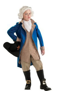 Child General George Washington Costume for Kids