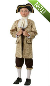 Kid George Washington Costume for Kids