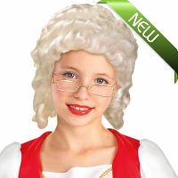 Martha Washington Colonial Girl Wig