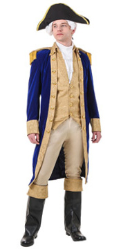 Deluxe General George Washington Costume
