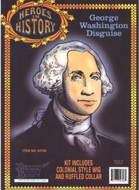 George Washington Kid Heroes in History Wig