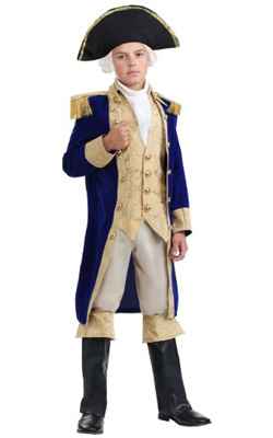 General George Washington Costume for Boys