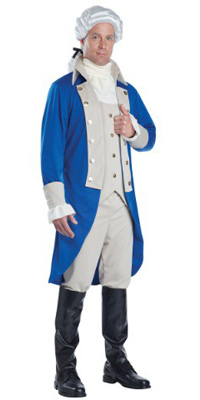 Adult George Washington Jacket for Men