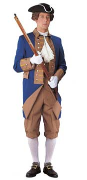 American Revolutionary Men's Costume