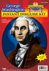 Heroes in History Washington Disguise Kit